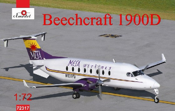 A Model From Russia 1/72 Beechcraft 1900D Mesa Airlines Aircraft Kit