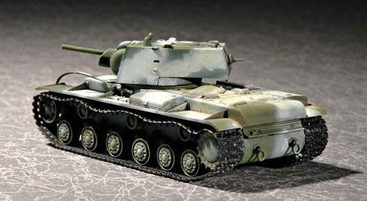 Trumpeter Military Models 1/72 Russian KV1 Mod 1941 Tank (Small Turret) Kit