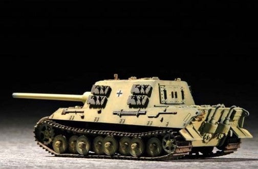 Trumpeter Military Models 1/72 German SdKfz 186 Jagdtiger Tank (Porschel) Kit