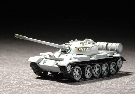 Trumpeter Military Models 1/72 Russian T55 M1958 Medium Tank Kit