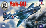 A Model From Russia 1/72 Yak9U Soviet Fighter Kit
