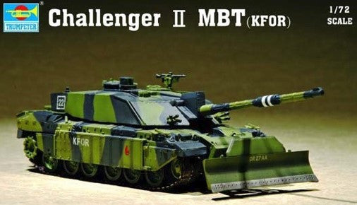 Trumpeter Military Models 1/72 British Challenger II Main Battle Tank KFOR Kit