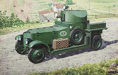 Roden Military 1/72 Pattern 1920 Mk I WWII British Armored Car Kit