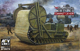 AFV Club Military 1/35 Churchill Mk III Type D Carpet Layer Tank Kit