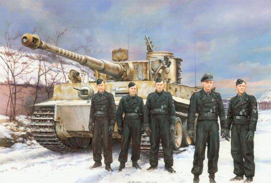 Dragon Military Models 1/72 Tiger I Early Production, Wittmann's Command Tiger Kit
