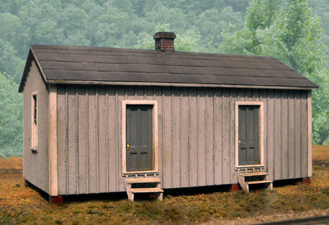 B.T.S. HO Chesapeake & Ohio Standard Section House Kit