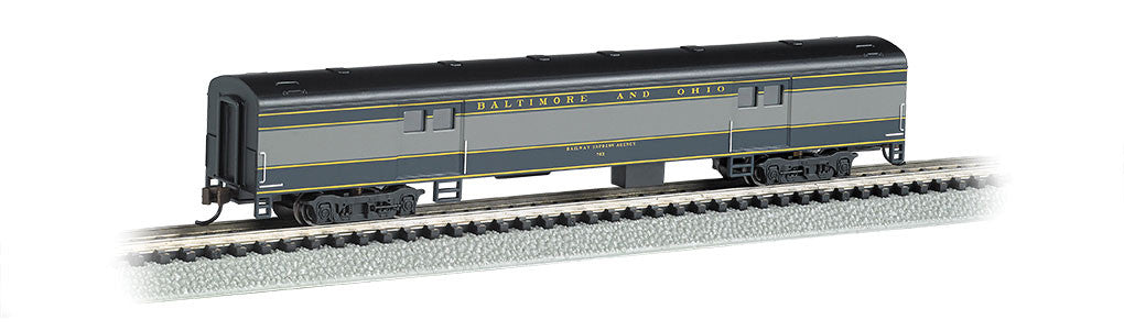 Bachmann N 72' Smooth Side Baggage Car, Baltimore & Ohio®