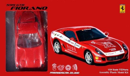 Fujimi Car Models 1/24 Ferrari 599 GTB Fiorano Sports Car Kit