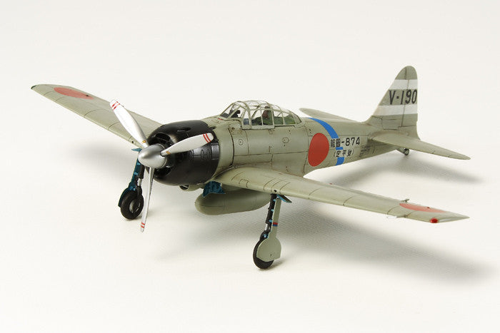 Tamiya Aircraft 1/72 A6M3 Mod 32 (Hamp) Zero Fighter Kit