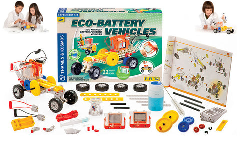 Thames & Kosmos Eco-Battery Vehicles Experiment Kit