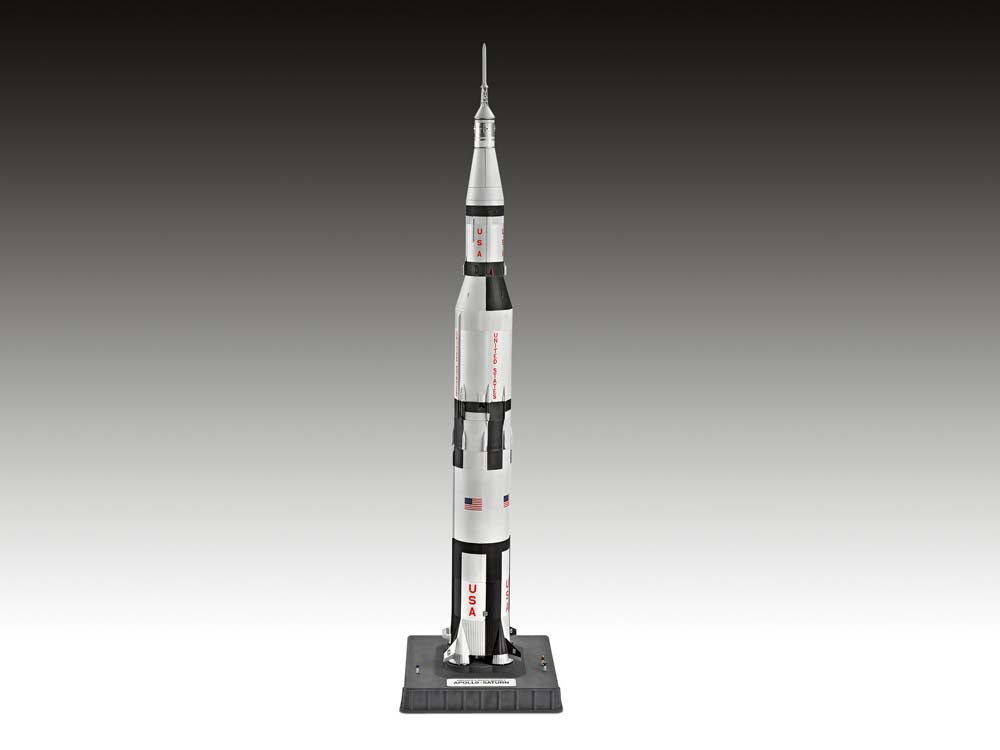 Revell Germany Space 1/144 Apollo Saturn V Rocket Kit