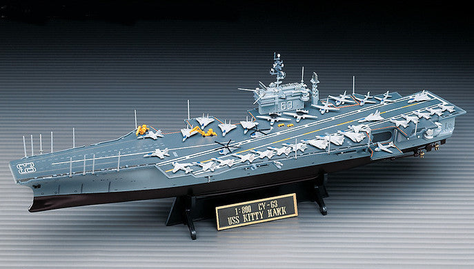 Academy Ships 1/800 USS Kitty Hawk Kit