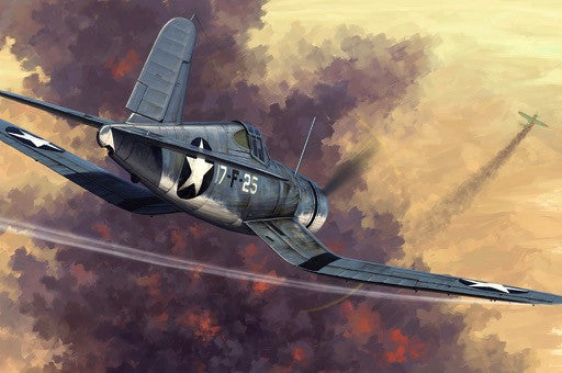 Hobby Boss Aircraft 1/48 F4U-1 Corsair Early Kit