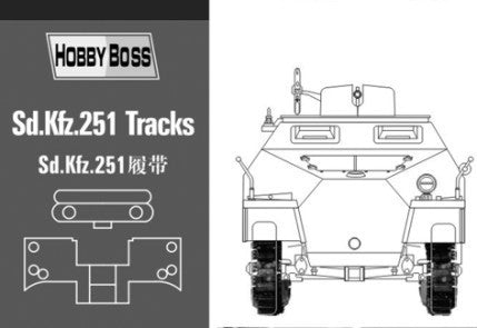 HOBBY BOSS MILITARY 1/35 Sd.Kfz.251 TRACKS KIT