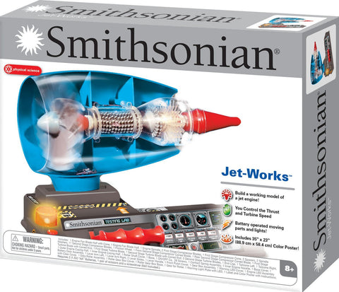 Natural Science Industries Smithsonian Jet-Works Visible Jet Engine Kit