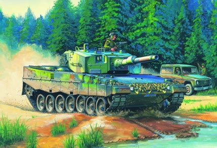 HOBBY BOSS MILITARY 1/35 GERMAN LEOPARD 2 A4 KIT