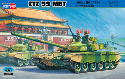 HOBBY BOSS MILITARY 1/35 PLA ZTZ99 MBT KIT
