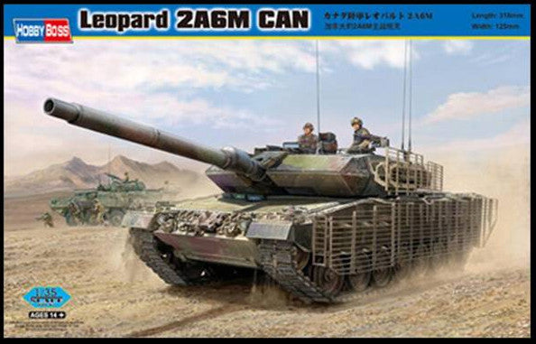 Hobby Boss Military 1/35 Leopard 2A6M Can Kit