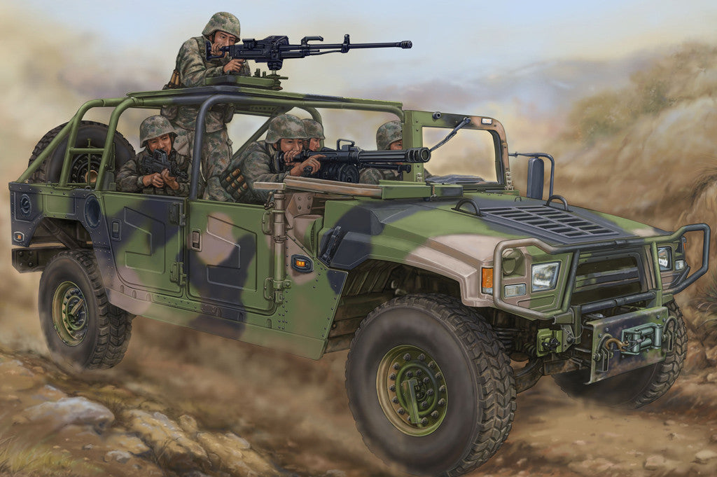 Hobby Boss Military 1/35 Meng SH 1.5ton Light Vehicle Kit