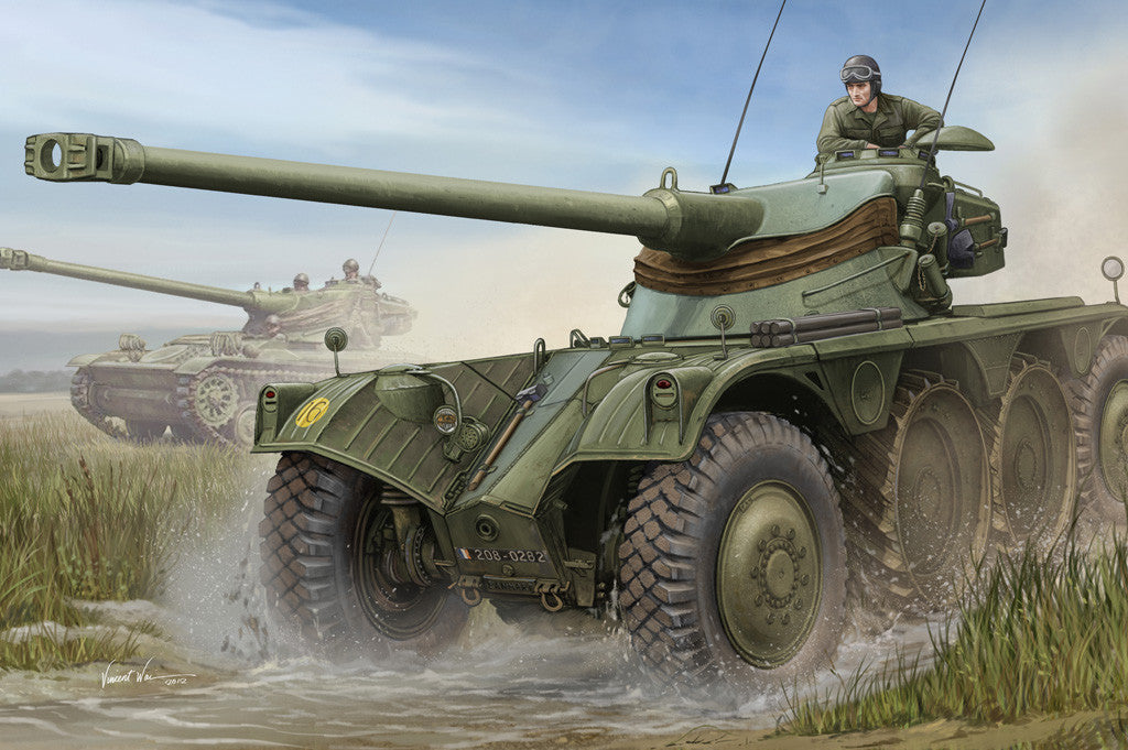 Hobby Boss Military 1/35 EBR-10 Wheeled Recon Vehicle Kit