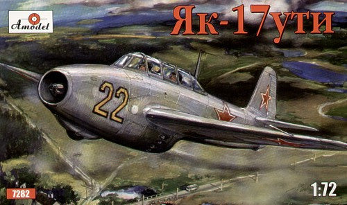 A Model From Russia 1/72 Yak17 UTI Soviet Fighter Kit
