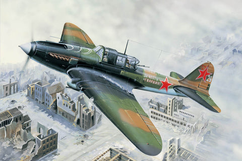 Hobby Boss Aircraft 1/32 IL-2M GRD Attack Aircraft Kit