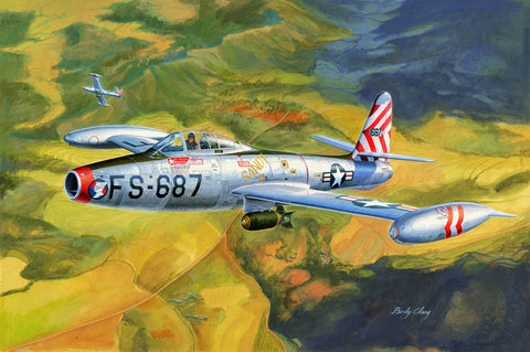 Hobby Boss Aircraft 1/32 F-84E Thunderjet Kit