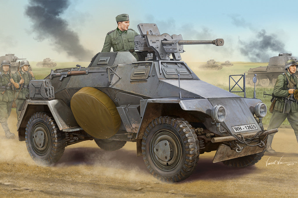 Hobby Boss Military 1/35 LE Pz.SP.WG SD.KFZ.221 Kit