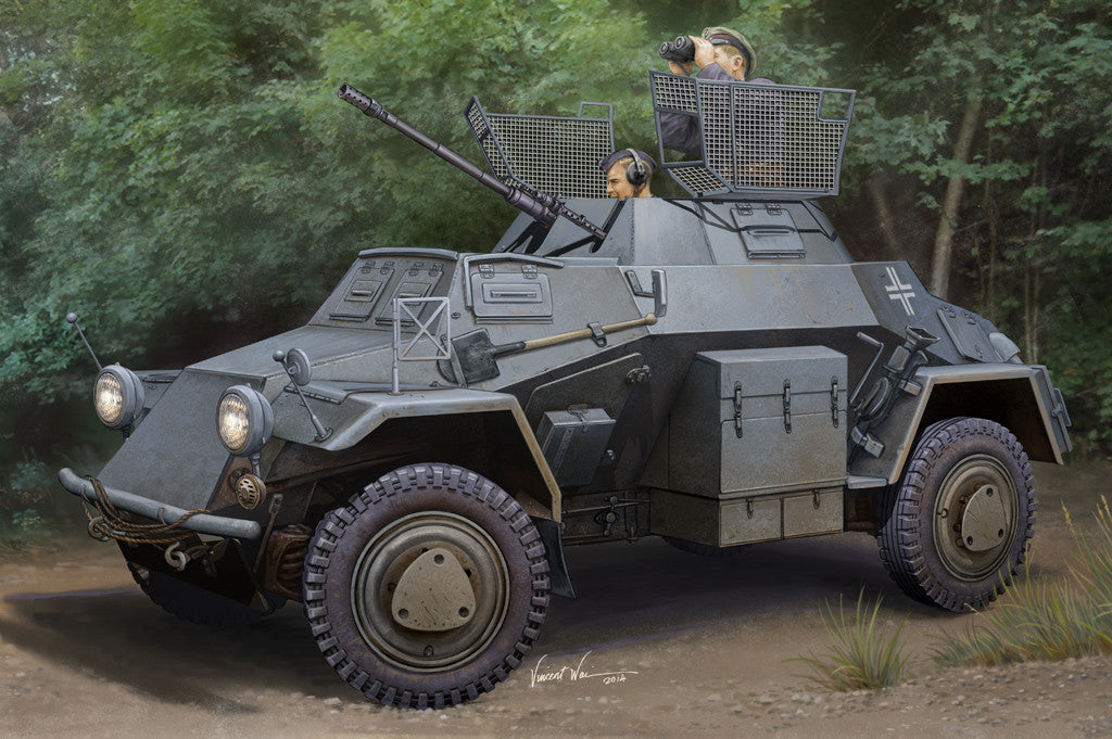 Hobby Boss Military 1/35 Panzerspah Wagen Kit