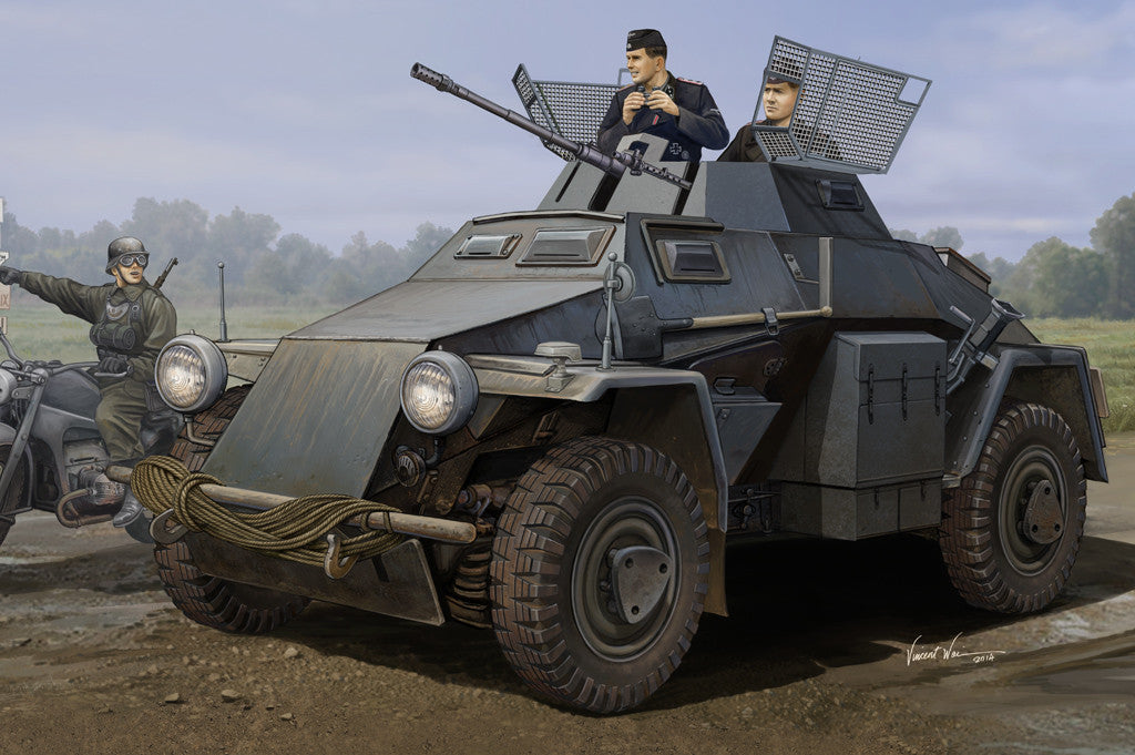 HOBBY BOSS MILITARY 1/35 GERMAN Sd.Kfz.222 KIT