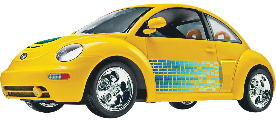 Revell-Monogram Model Cars 1/24 New VW Beetle Snap Kit