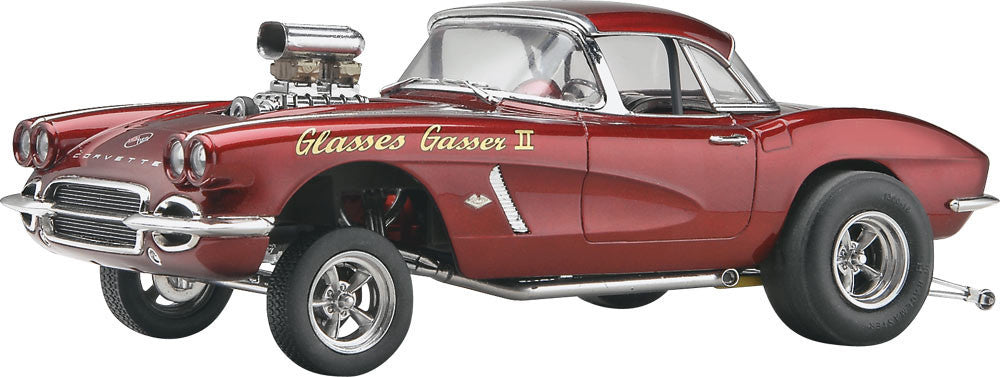 Revell-Monogram Model Cars 1/25 1962 Corvette D&M Gasser Car Kit