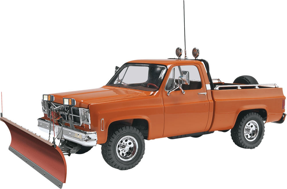 Revell-Monogram Model Cars 1/24 GMC Pickup Truck w/Plow Kit