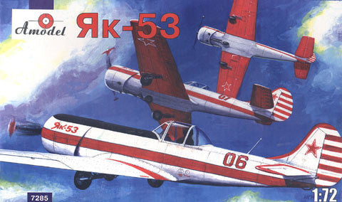 A Model From Russia 1/72 Yak53 Soviet Fighter Kit