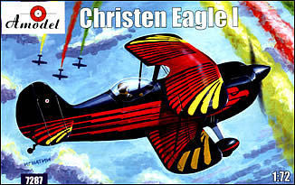 A Model From Russia 1/72 Christen Eagle I Single-Seater American Sport Plane Kit OS