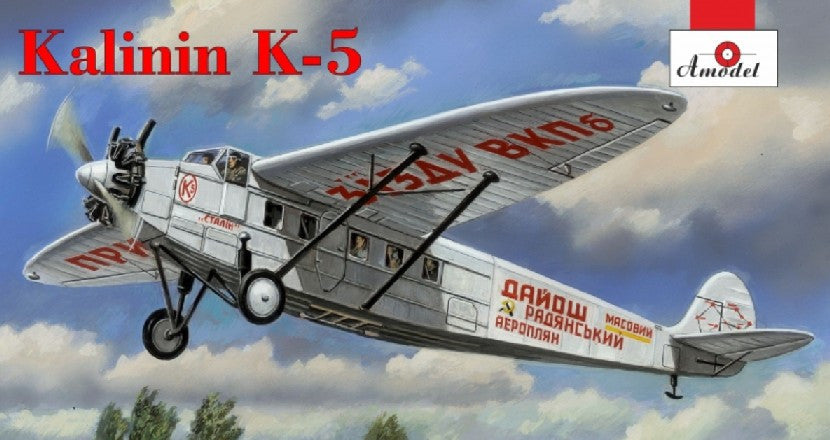 A Model From Russia 1/72 Kalinin K5 Soviet Airliner Kit