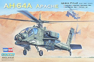 Hobby Boss Aircraft 1/72 AH-64A Apache Attack Heli Kit