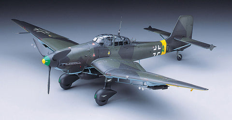 Hasegawa Aircraft 1/32 Ju87D Stuka Dive Bomber (Ltd Edition) (Re-Issue) Kit