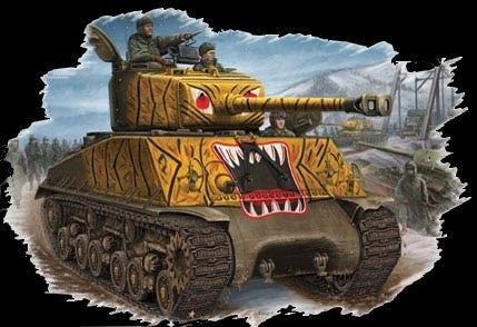 Hobby Boss Military 1/48 M4A3E8 Sherman Korea Kit