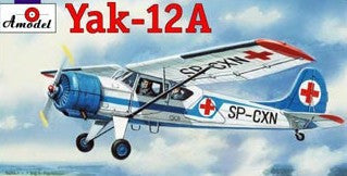 A Model From Russia 1/72 Yak12A Soviet Multi-Role Aircraft Kit