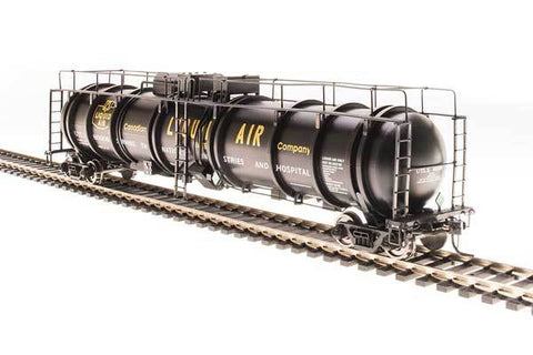 Broadway Limited N High-Capacity Cryogenic Tank Car - RTR - Canadian Liquid Air Co. (Black, Yellow)