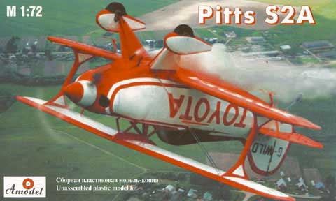 A Model From Russia 1/72 Pitts S2A Aerobatic BiPlane Kit
