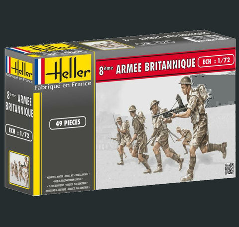 Heller Military 1/72 British 8th Army (49) Kit