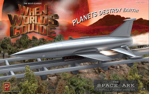 Pegasus Sci-Fi 1/350 When Worlds Collide: Space Ark Kit