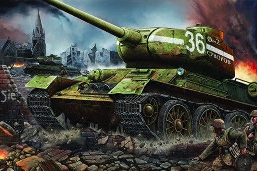 Trumpeter Military Models 1/16 Russian T34/85 Mod 1944 Factory Nr.183 Late Tank Kit