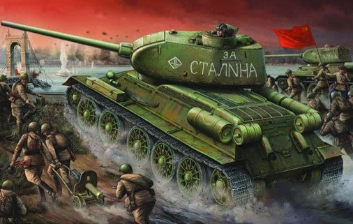 Trumpeter Military Models 1/16 Russian T34/85 Mod 1944 Factory Nr.174 Early Tank Kit