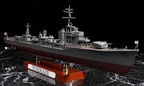Hasegawa Ship Models 1/350 Japanese Navy Yukikaze Type KOH Destroyer Operation Ten-Go 1945 Kit