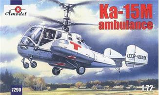 A Model From Russia 1/72 Kamov Ka15M Ambulance Helicopter Kit