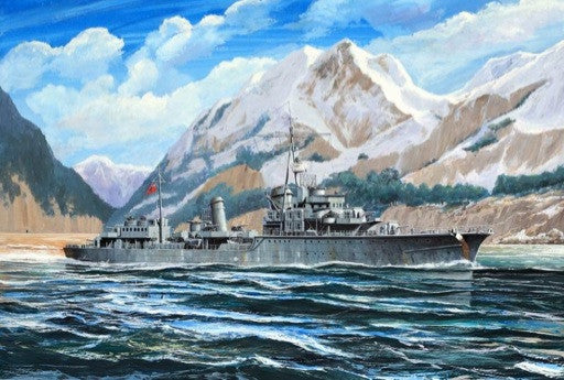 Trumpeter Ship Models 1/700 German Zerstorer Z28 Destroyer 1945 Kit