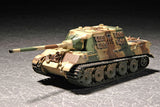 Trumpeter Military Models 1/72 German SdKfz 186 Jagdtiger Tank w/Zimmerit Kit
